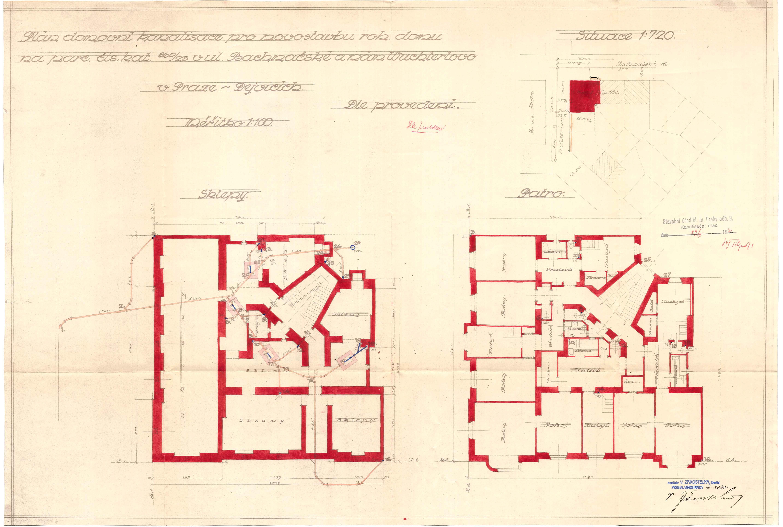 Исторические планы дома